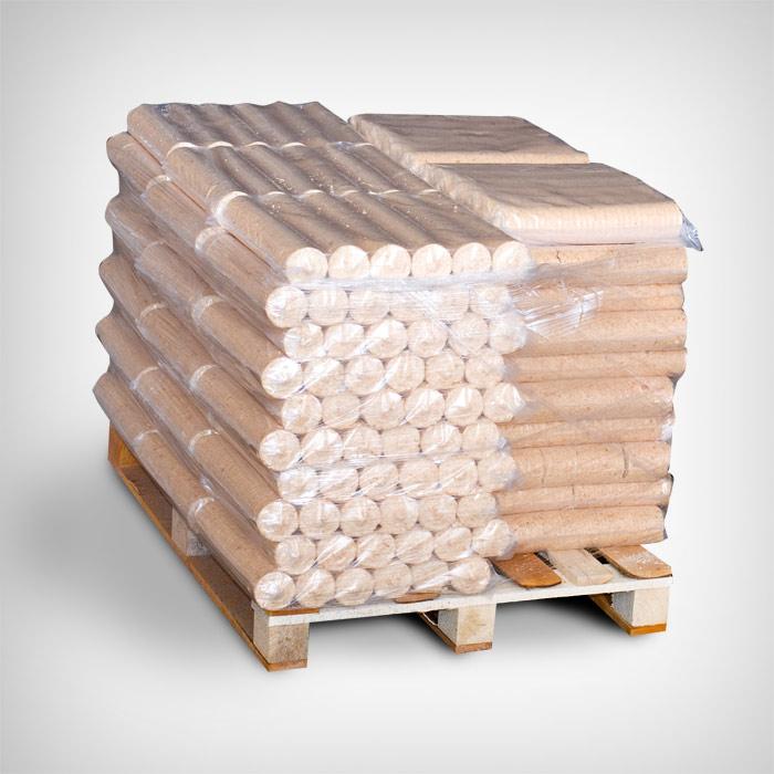Ümar puitbrikett 500kg alusel (50x10kg)