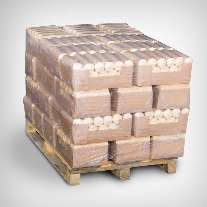 Ümar puitbrikett 504kg alusel (36x14kg)