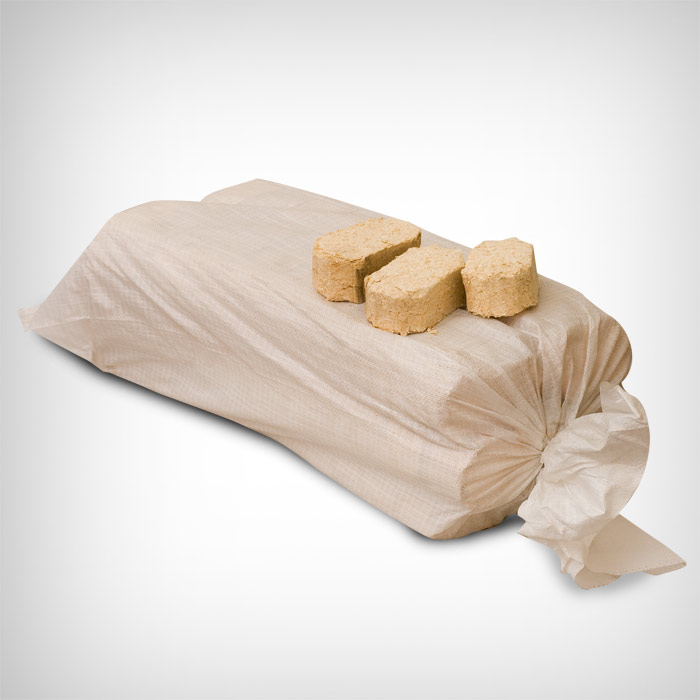 Kandiline puitbrikett 25kg pakend