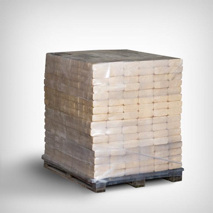 Kandiline puitbrikett 960kg alusel (96x10kg)